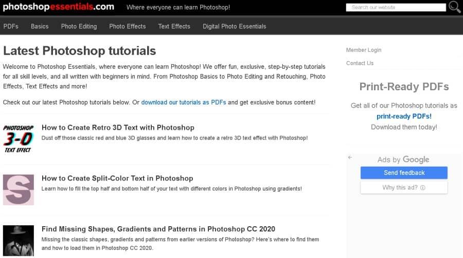 Photoshop Essentials (PhotoshopEssentials)