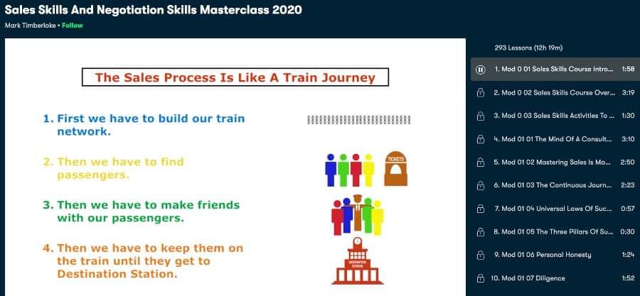 Sales Skills And Negotiation Skills Masterclass 2020 (Skillshare)