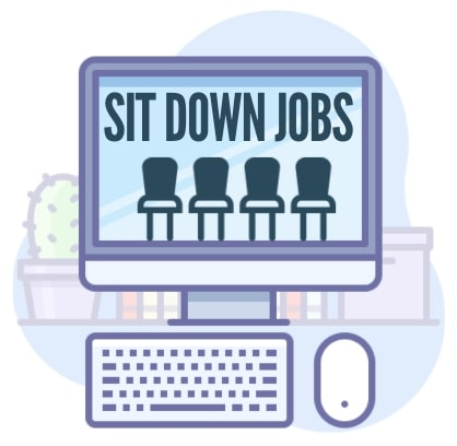Jobs Where You Can Sit Down
