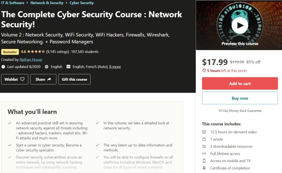 The Complete Cyber Security Course Network Security!