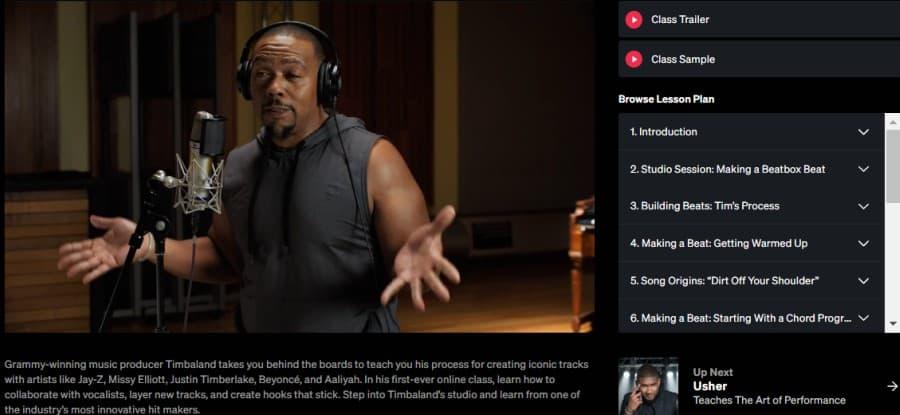 Timbaland – Teaches Producing and Beatmaking (MasterClass)
