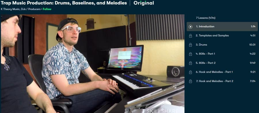 Trap Music Production Drums, Baselines, and Melodies (Skillshare)