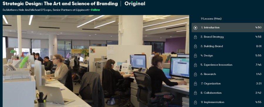 1. Strategic Design The Art and Science of Branding (Skillshare)