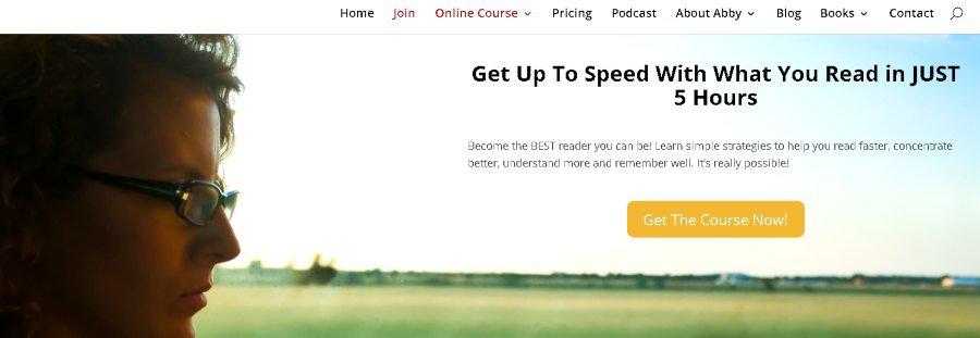11. Learn Speed Reading Online (Rev It Up Reading)