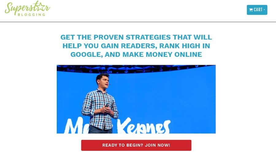 11. Superstar Blogging Business Masterclass (SuperstarBlogging)