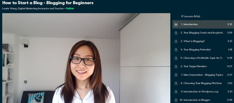 4. How to Start a Blog - Blogging for Beginners