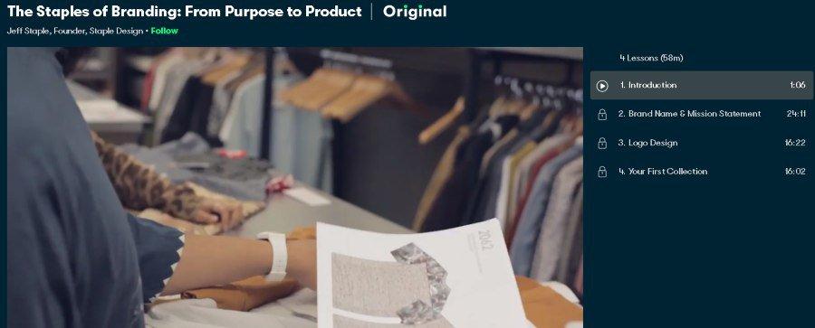 4. The Staples of Branding From Purpose to Product (Skillshare)