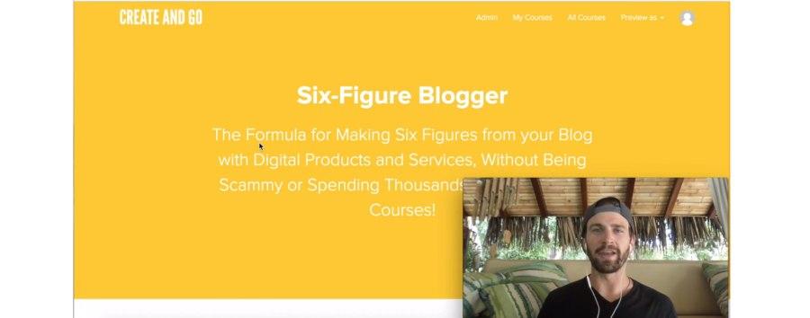 5. Six-Figure Blogger (Create and Go)
