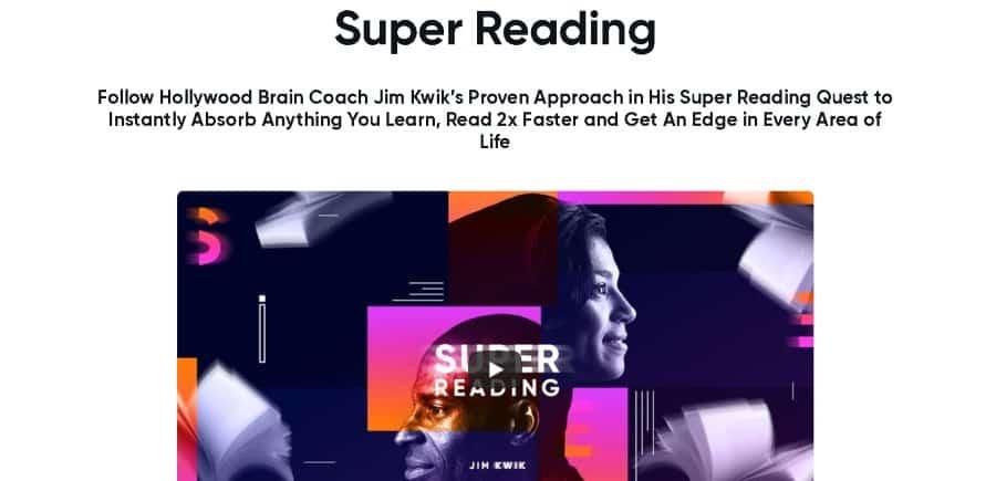 6. Super Reading (MindValley)