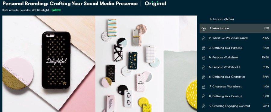 7. Personal Branding Crafting Your Social Media Presence (Skillshare)