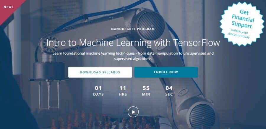 Intro to Machine Learning with TensorFlow - Udacity