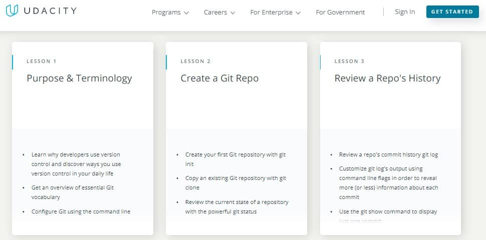 udacity free version control with git