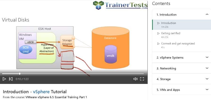 1. VMware vSphere 6.5 Essential Training Part 1 (LinkedIn Learning)