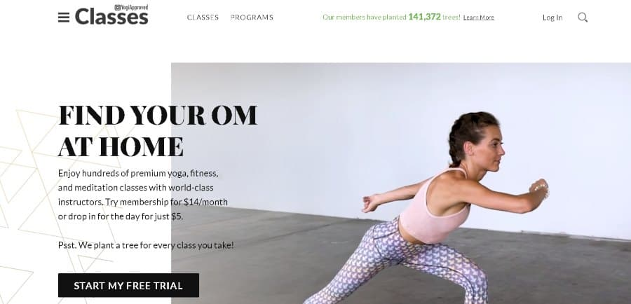 12. Premium Online Yoga Classes (YogiApproved)