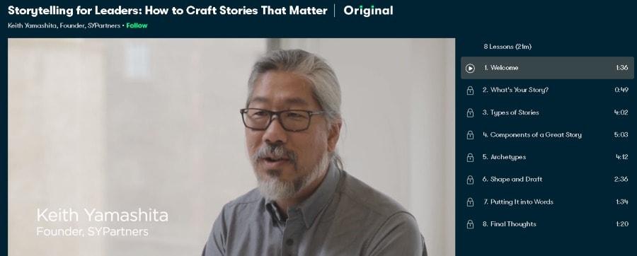 2. Storytelling for Leaders How to Craft Stories That Matter (SkillShare)