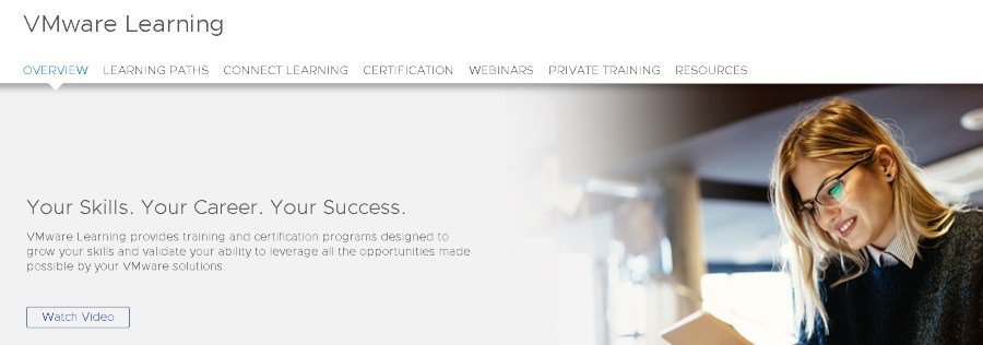 5. VMware Learning Paths (VMware Official)