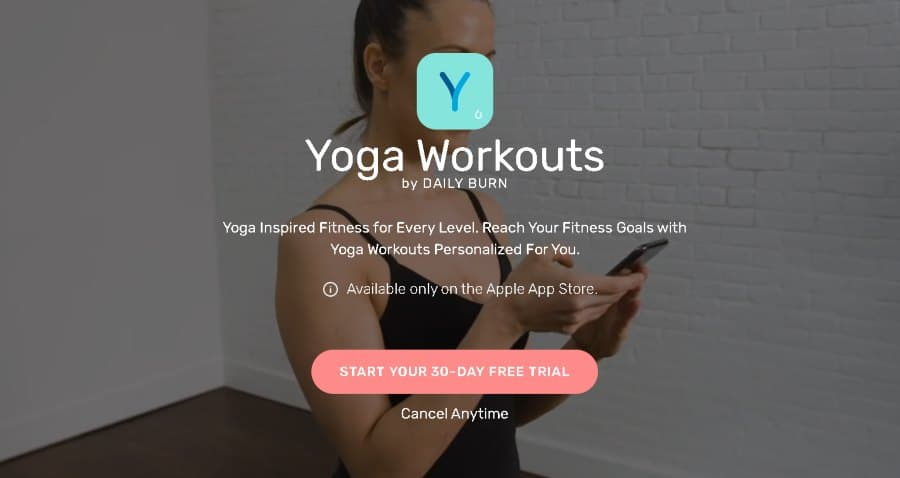 7. Yoga Workouts by DAILY BURN (Daily Burn)