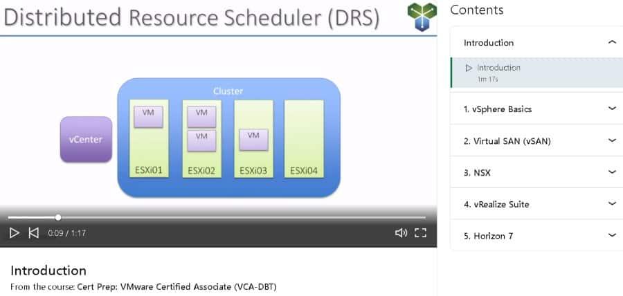 8. Cert Prep VMware Certified Associate (VCA-DBT) (LinkedIn Learning)