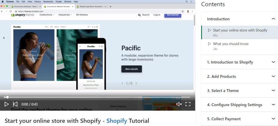 8. Learning Shopify (LinkedIn Learning)