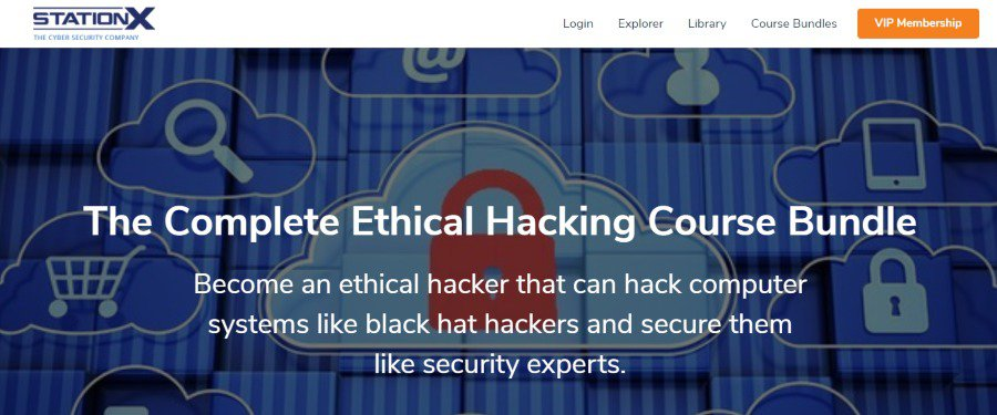 8. The Complete Ethical Hacking Course Bundle (StationX)