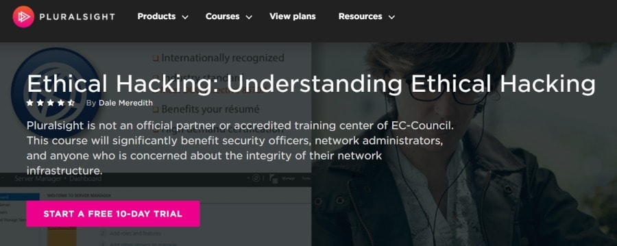 9. Ethical Hacking Understanding Ethical Hacking (Pluralsight)