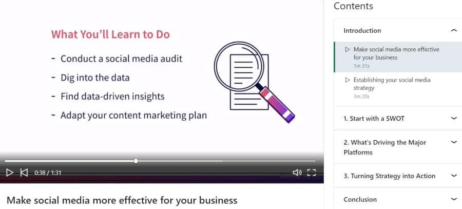 9. Social Media Marketing Strategy and Optimization (LinkedIn Learning)