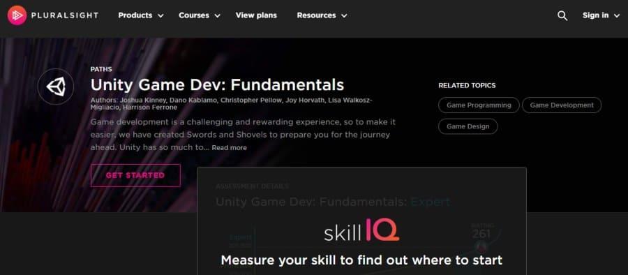 13. Unity Game Dev Fundamentals (Pluralsight)