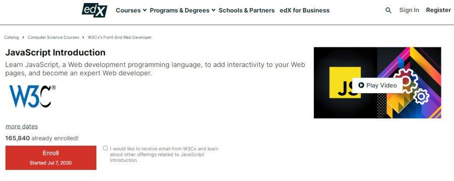 5. JavaScript Introduction (edX)