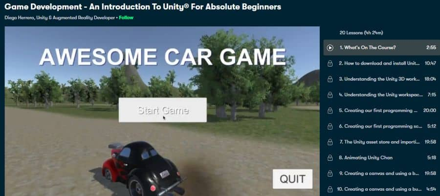 9. Game Development - An Introduction To Unity® For Absolute Beginners (Skillshare)