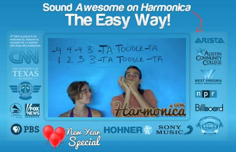 Easy Harmonica Lessons (Harmonica)