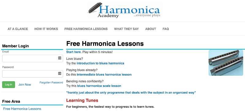 Harmonica Academy