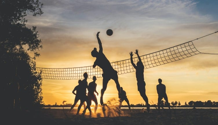 volleyball is social and competitive