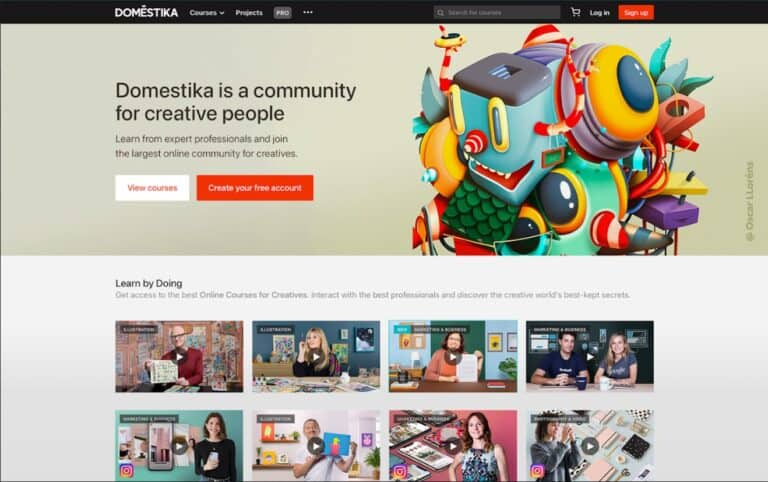 Domestika: A creative community to boost your learning experience 2021