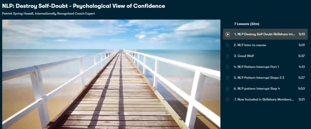 NLP: Destroy Self-Doubt - Psychological View of Confidence