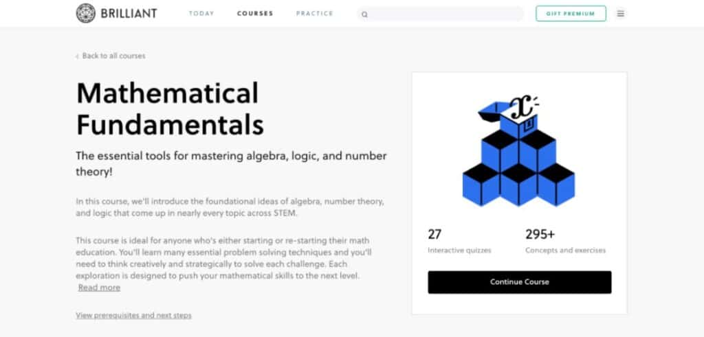 Mathematical Fundamentals Brilliant Learn How To Get Great At Arithmetic With [year]'s Top 11+ Best Online Math Courses & Classes
