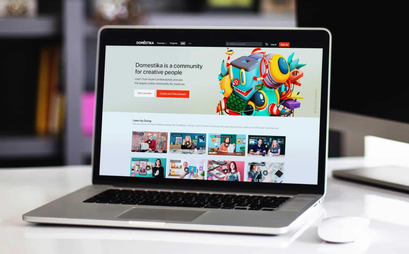The Best Creative Online Courses on Domestika in English