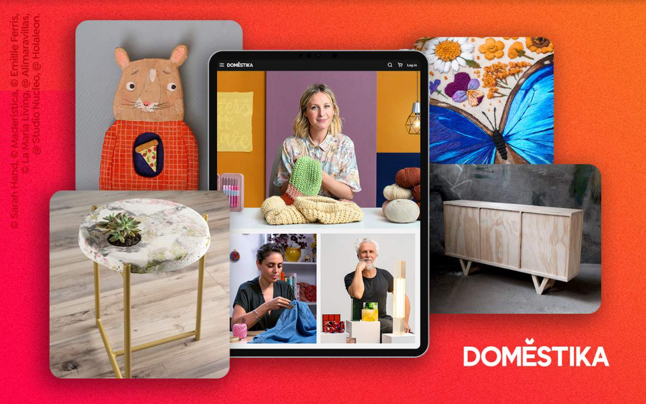 Learn A New Creative Hobby Online With Domestika