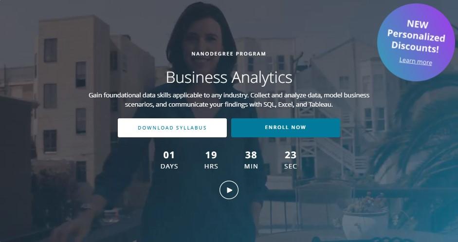 Business Analytics - Udacity