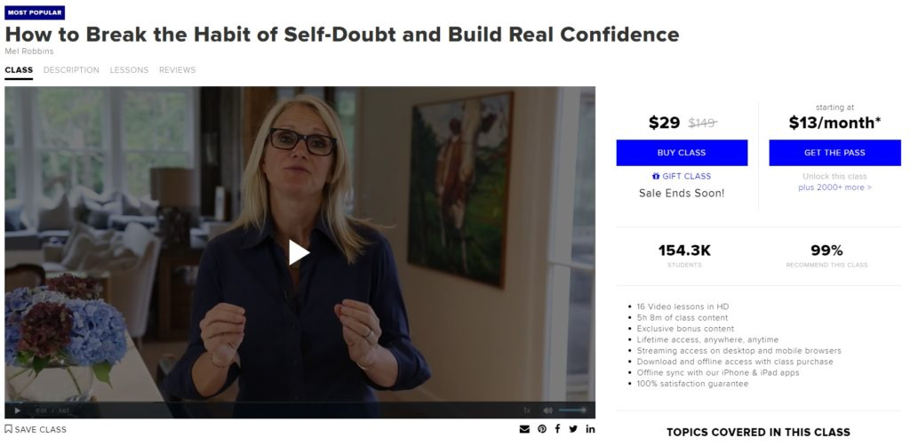 How to Break the Habit of Self-Doubt and Build Real Confidence - CreativeLive