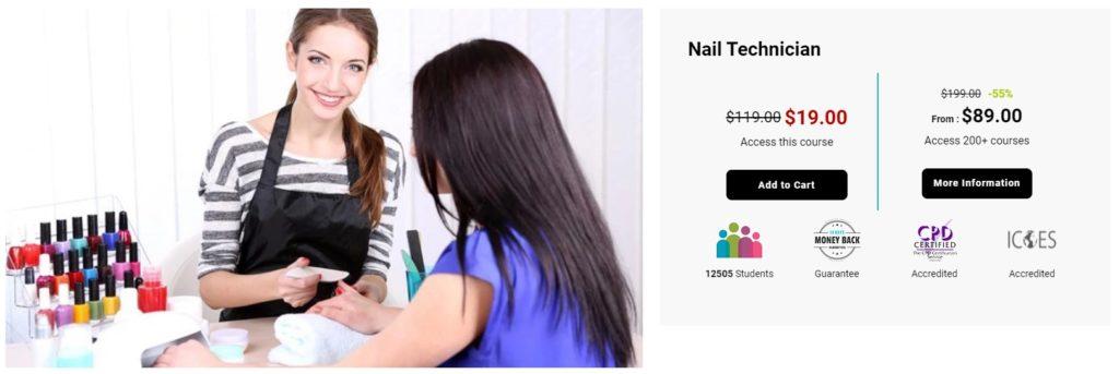 Nail Technician - International Open Academy